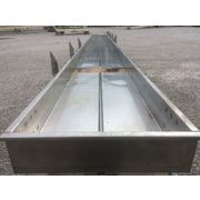 "Used Cardwell Vib-o-vey 24""W X 37'-6"" Stainless Steel Vibrating Shaker Conveyor"