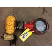 "Used 5"" Bray Automated Butterfly Valves (Lot of 3)"