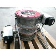 "Used Roto-disc 10"" Double Dump Spherical Dome Valve Airlock Model RD-10500"