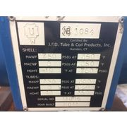 J.F.D. Tube & Coil Products Shell & Tube Heat Exchanger Condenser [Unused!]