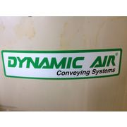 Used Dynamic Air Carbon Steel Hopper Bin Material Air Separator