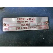"Used 4"" Fabri Valve Knife gate"