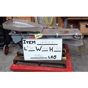 "Used 12"" wide x 55"" long Carrier Vibrating Stainless Steel Pan Feeder 1240S1"