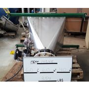 Used NBE Stainless Steel Bag Dump Hopper