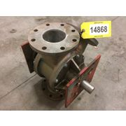 "Used 4"" Fuller Stainless Steel Pneumatic Conveying diverter valve"