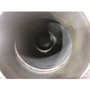 "Used 5"" Stainless Steel Pneumatic Conveying Rotary Plug Diverter valve"