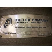 "Used 8"" Fuller Co Stainless Steel Pneumatic Conveying Diverter Valve"