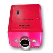 Used Bunting Magnetics Metal Separator Detector - Quicktron 3.5 R 100