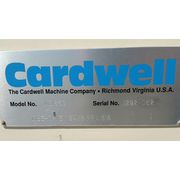 "Used 24"" wide x 8' long Cardwell Stainless Vibrating Conveyor Feeder Vibe-O-vey"