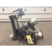 "Used 6"" Stainless steel Dry Bulk Reject Gravity Diverter Valve"