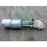 "Used 10"" Dezurik Stainless Knife Gate Valve"