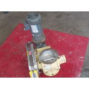 "Used 6"" Premier Pneumatics Stainless Steel Rotary Airlock Valve"