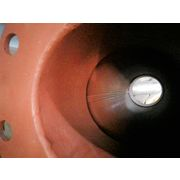"Aeroacoustic Tubular Industrial Fan Silencer w/ 6"" flanged inlet and outlet"