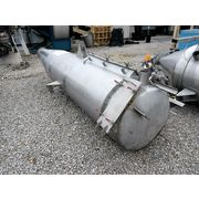 Used 500 CFM Stainless Steel Pulse-jet Dust Collector Filter Receiver