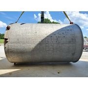Used 6,700 gallon Stainless Steel Jacketed Tank 9' dia.