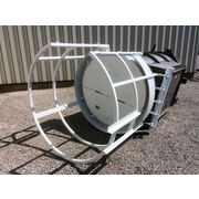 Used 1463 CFM MAC Stainless Steel Filter Receiver Dust Collector 209 sq ft