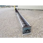 "Used 12""dia X 22' long Stainless Steel Screw Conveyor"