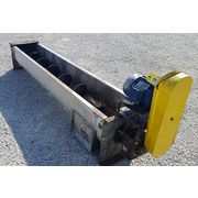 "Used KWS Mfg 16"" dia. X 10' long Screw Auger Industrial Conveyor"
