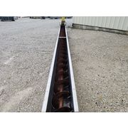 "Used 12"" dia. X 24' long Industrial Screw Auger Conveyor"
