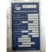 Used 78 Cubic Foot Gemco V-Cone Stainless Tumble Blender Vacuum Dryer