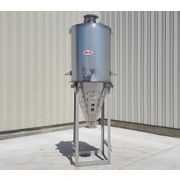 Used 37 cubic foot MAC Stainless Steel Bin Hopper