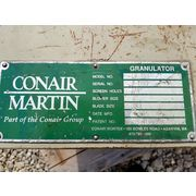 Used 5 HP Conair Martin Granulator Shredder - Model LP 400
