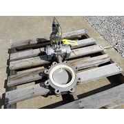 "Used 6"" Bray Stainless Steel Butterfly Valve - 21 Series"