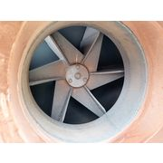 "5,833 CFM @ 4.3"" SP Used 15 HP Twin City Stainless Steel High Temp Fan RBO 915"