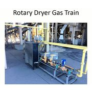 Used Feeco International Rotary Drum Dryer package Direct natural gas fired