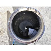 Used 20 HP Ducon Stainless Dynamic Wet Centrifugal Scrubber System Model UW-3