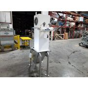 Used 340 CFM Powder Process Solutions Bin Vent Dust Collector BVP-12-4 w/ Hopper