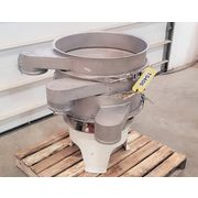 "Used 24"" Stainless Steel Two Deck Separator Screener Sifter"