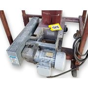 Used 1 HP Machine & Process Design Stainless Single Roll Crusher Lump Breaker