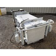 Used 800 CFM Mikro Pulsaire Dust Collector Stainless Steel Filter Receiver