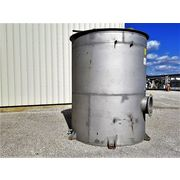 Used Stainless Steel Liquid Tank - 2500 Gallon