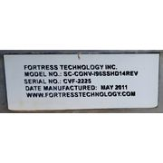Used Fortress Technology Inc. Metal Detection System