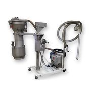 Used Vac-U-Max Hopper Loader Stainless Portable Drum Filling Vacuum System