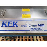 Used 10 HP Stainless Steel KEK Cone Mill - Model 340