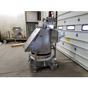 "Used Stainless Horizon Bag Dump w/ 34"" dia. Russell Finex Vibratory Sieve"