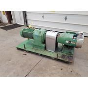 Used 15 HP Tri-Clover Rotary Sanitary Stainless Steel Pump TSRSWLS540MP00CT-P