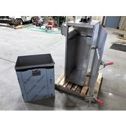 Used Hapman Stainless steel Pneumatic Bag Compactor