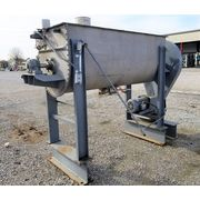 Used 35 Cubic Foot J.H. Day Co. Stainless Steel Double Ribbon Blender Mixer