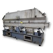 "Used Witte Fluid Bed Dryer Cooler 12"" Wide X 144"" L Stainless Steel Vibratory"