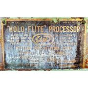 Used Holo-Flite Processor Dual Thermal Screw Dryer Cooler Heat transfer (D1620)