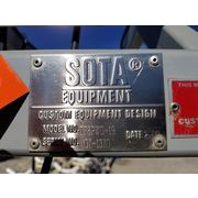 Used Sota Equipment Bulk Box 2-post weigh Fill System model TF2PWD-19