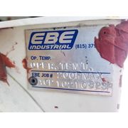 "Used 8""wide X 40"" long EBE INDUSTRIAL Rotary Valve"