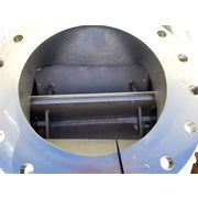"Used 16""dia. DMN INC WESTINGHOUSE 400mm Stainless Rotary AirLock Valve Feeder"