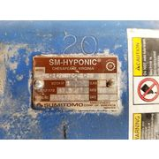 Used 1HP Sumitomo Hyponic Right Angle Gear Motor - Output RPM: 87.5