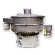 "Used 48"" Sweco Single Deck Stainless Vibratory Screener Sifter Separator S48S86"