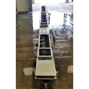 "Used 10"" dia. x 20' Long Stainless Steel Screw Auger Conveyor"
